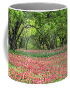Willows,indian Paintbrush Make For A Colorful Palette. Coffee Mug