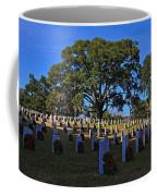 Wilmington National Cemetery Christmas Coffee Mug