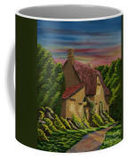 Wiltshire At Sunset Coffee Mug