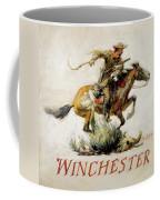 Winchester Horse And Rider  Coffee Mug