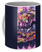 Wind And Waves Coffee Mug by Carol  Law Conklin