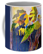 Wind Blown Sunflowers Coffee Mug
