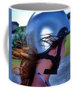 Wind In The Hair Coffee Mug