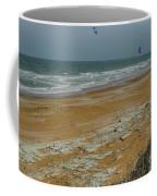 Wind Surfing In Flagler Coffee Mug
