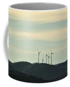 Wind Turbines In Algarve Mountains Coffee Mug