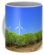 Wind Turbines Landscape Coffee Mug
