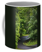 Winding Road Bluestone State Park West Virginia Coffee Mug