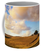 Winding Road Leads To A Lone Tree Coffee Mug