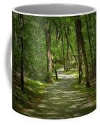 Winding Trails At Bur Mil Park  Coffee Mug