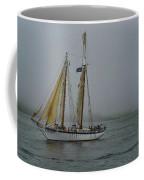 Windjammer In The Mist Coffee Mug