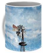 Windmill And Clouds Coffee Mug