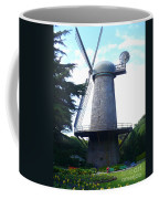 Windmill In Golden Gate Park Coffee Mug