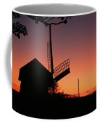 Windmill In The Afterglow. Coffee Mug