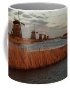 Windmills In The Evening Sun Coffee Mug