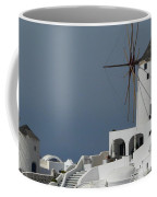 Windmills Of Santorini Coffee Mug