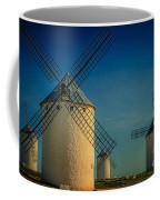 Windmills Under Blue Sky Coffee Mug