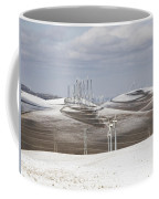 Windmils In Snow Coffee Mug