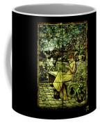 Window - Lady In Garden Coffee Mug