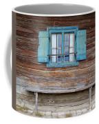 Window And Bench Coffee Mug