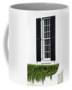 Window And Black Shutters Coffee Mug