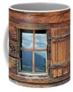 Window And Reflection Coffee Mug by Yair Karelic