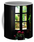 Window And Roses Coffee Mug