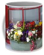 Window Flowers Coffee Mug