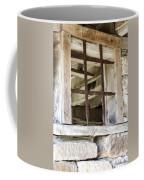 Window In The Amana Farmer's Market Barn Amana Ia Coffee Mug