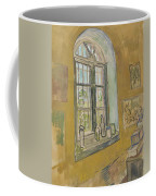 Window In The Studio Saint-remy-de-provence, September - October 1889 Vincent Van Gogh 1853 - 1890 Coffee Mug