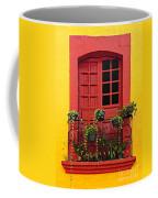 Window On Mexican House Coffee Mug