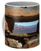 Window To Sedona Coffee Mug