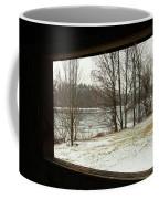 Window To Winter Coffee Mug