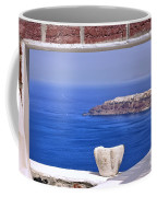 Window View To The Mediterranean Coffee Mug