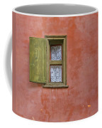 Window With A Lace Curtain Coffee Mug