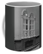 Windows At Cadiz Bw Coffee Mug