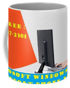 Windows Support To Remove System Error Codes Coffee Mug