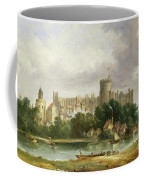 Windsor Castle - From The Thames Coffee Mug