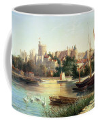 Windsor From The Thames   Coffee Mug by Robert W Marshall