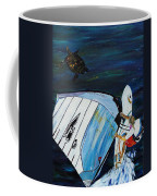 Windsurfing And Sea Turtle Coffee Mug