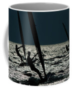 Windsurfing At Cape Hatteras National Coffee Mug