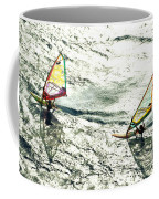 Windsurfing Silver Waters Coffee Mug