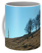 Windswept Trees - December 7 2016 Coffee Mug by D K Wall
