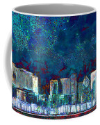 Windy Chicago Illinois Skyline Party Nights 20180516 Coffee Mug