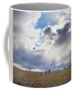 Windy Kite Day Coffee Mug by Bill Cannon
