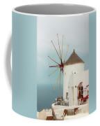 Oia Windmill  Coffee Mug