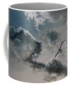 Windy Weather Coffee Mug by Diane Kraudelt