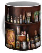 Wine - Rum And Tobacco Coffee Mug by Mike Savad