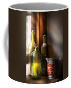 Wine - Three Bottles Coffee Mug by Mike Savad