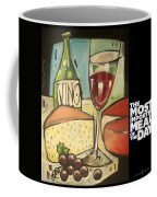 Wine And Cheese Imported Meal Coffee Mug