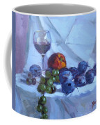 Wine And Fresh Fruits Coffee Mug